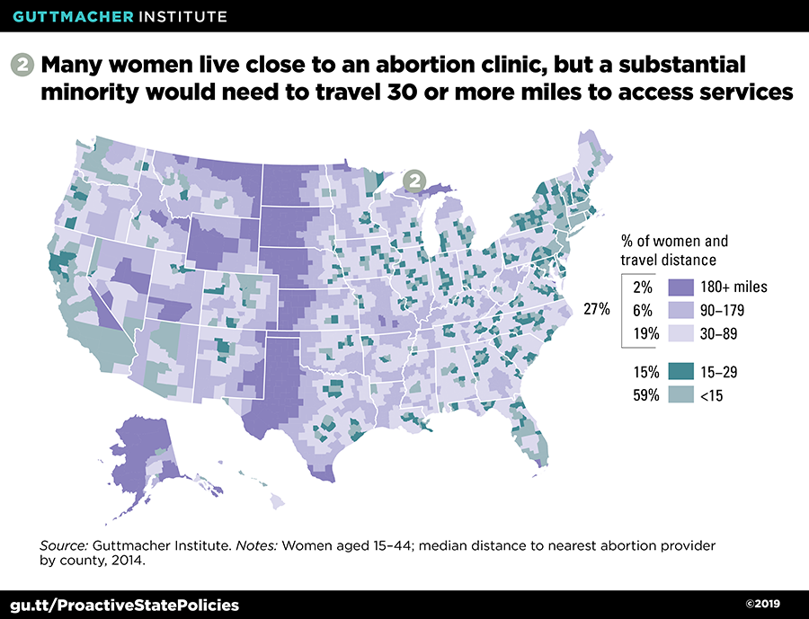 Ensuring Access to Abortion at the State Level: Selected