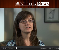 Elizabeth Nash on NBC Nightly News