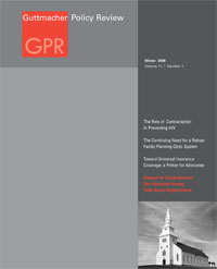 Guttmacher Policy Review Cover