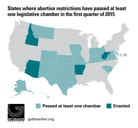 Laws Affecting Reproductive Health and Rights: Trends in the First ...