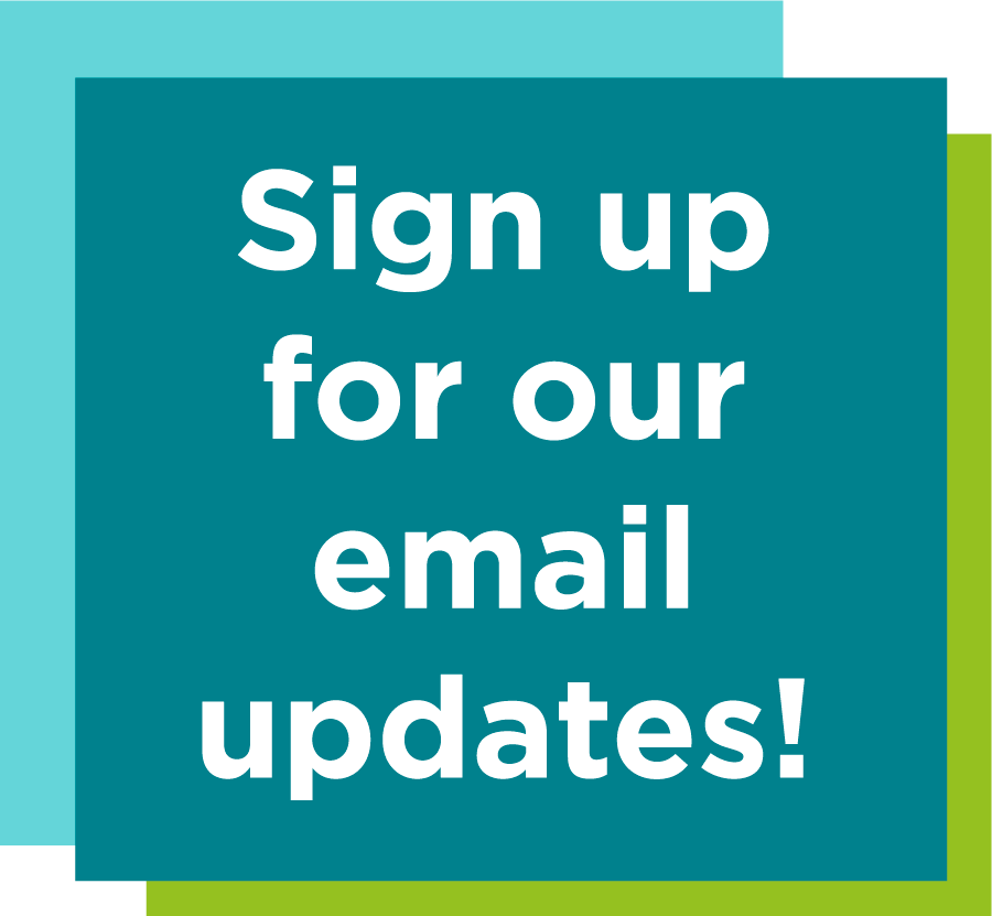 Sign up for our email updates!