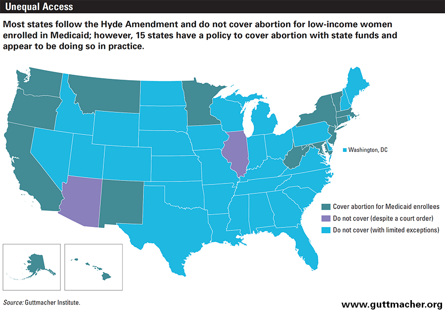 Abortion In The Lives Of Women Struggling Financially Why - Us abortion map