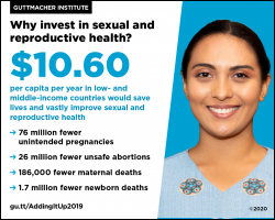 Why invest in sexual and reproductive health?