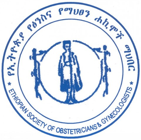 Ethiopian Society of Obstetricians and Gynecologists Logo