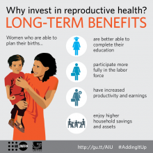 Sexual and reproductive health in africa