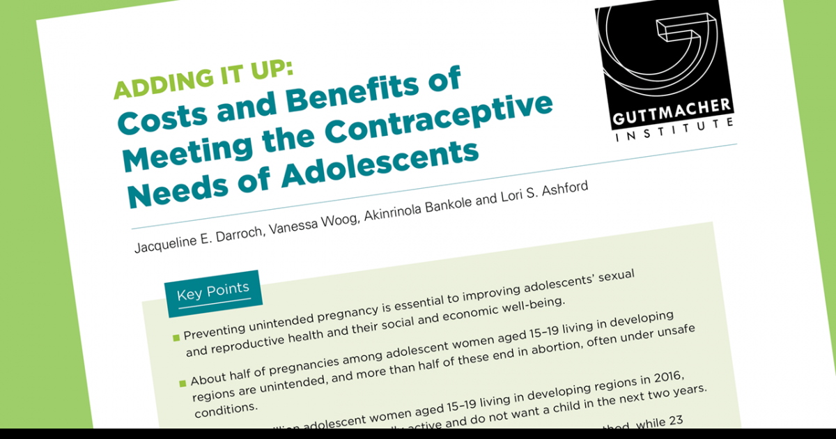 International perspectives on sexual and reproductive health impact factor