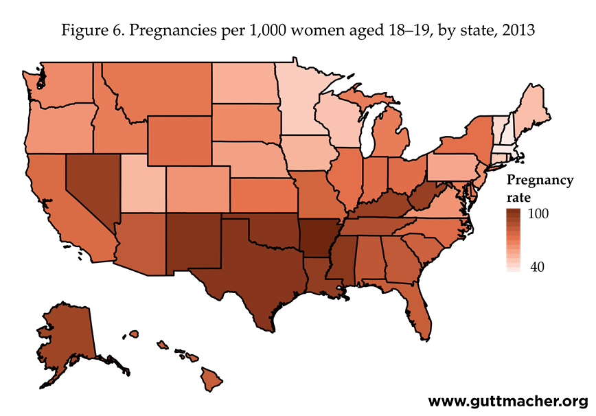 Pregnancies, Births and Abortions Among Adolescents and