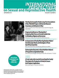 Perspectives on sexual and reproductive health galleries 87