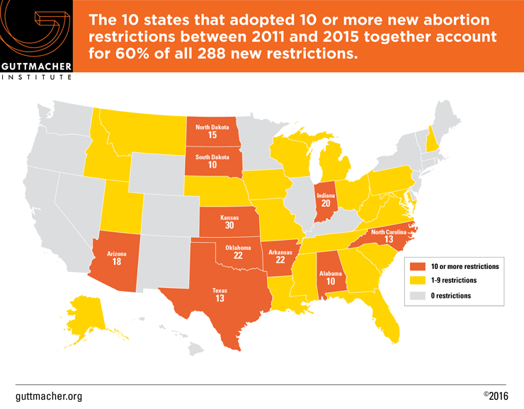 Laws Affecting Reproductive Health And Rights State Policy - Us abortion map